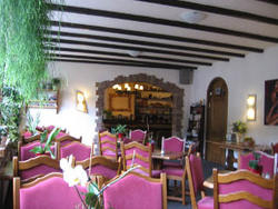 Pic: breakfast room of the Hotel Müller